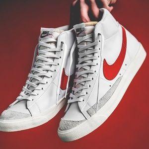 "The Nike Blazer Mid Vintage '77 ""Habanero Red"""